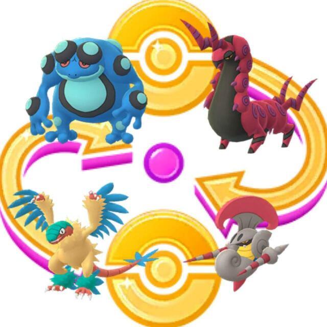 Seismitoad, Scolipede, Archeops, Escavalier - Pokemon Go ...