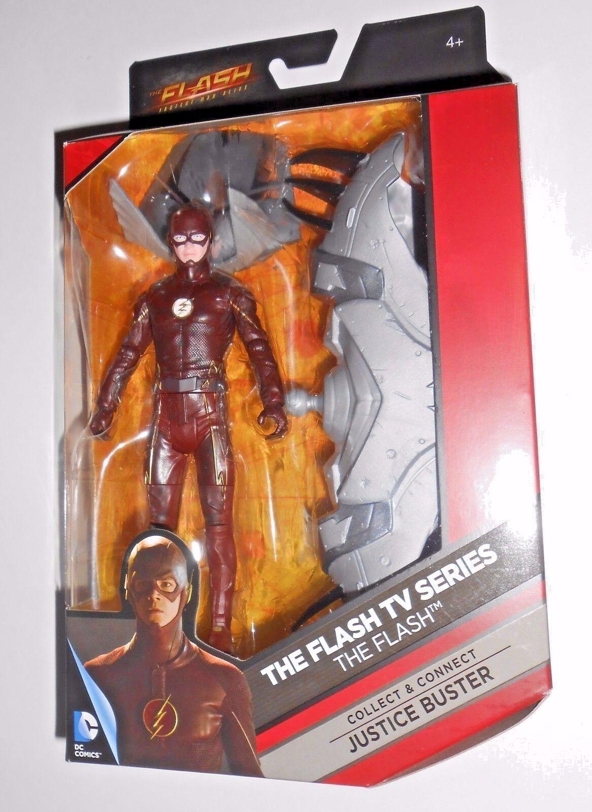 El Flash (6 ) DC Comics (blancoo Emblema variante) Multiverse Figura de Acción  5