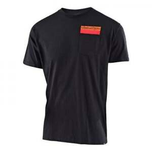 Troy-lee-Adulti-Sinistro-Corsia-Casual-Motocross-MX-Enduro-T-Shirt