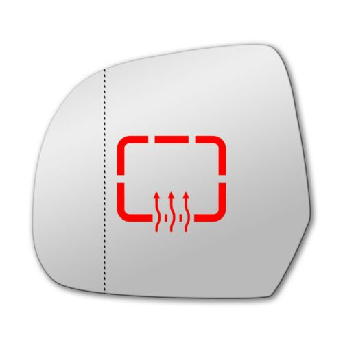 Links Asphärisch Spiegelglas Beheizbar für Dacia Lodgy 2012-2019