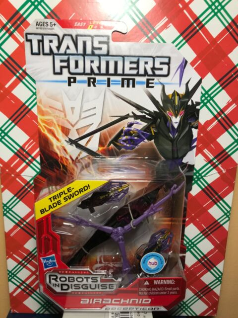 Transformers Prime Robots In Disguise Deluxe Class Airachnid