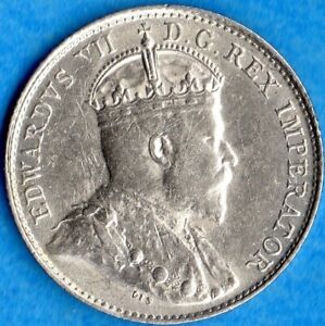 5 Cents Five Cent Small Silver Coin