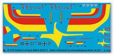 1/72 Decals für Phantom F-4F Flyout Jabo 35  2159