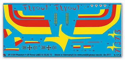 """Peddinghaus  1//72 1244 Phantom F4F Jabo G 35 Pferdsfeld /"""" 35 Jahre Jabo g 35 199"""