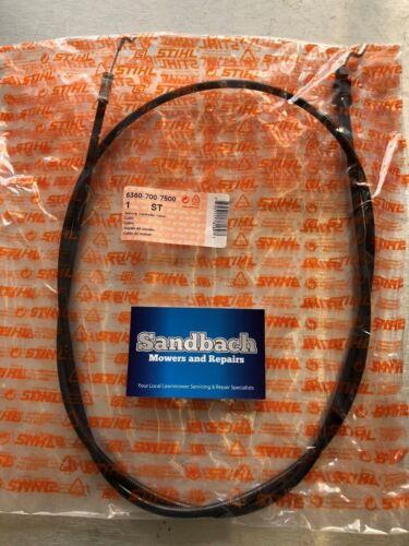 Genuine cable-Stihl No ST6360 700 7500