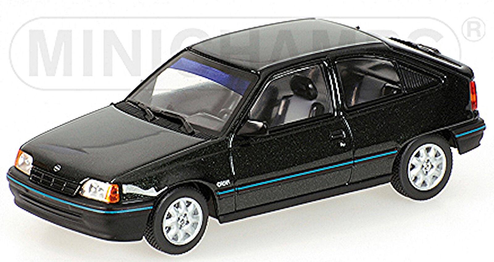 Opel Kadett E 3-door Hayon Arrière Facelift 1989-91 Vert vert Metallic 1 43 Minich