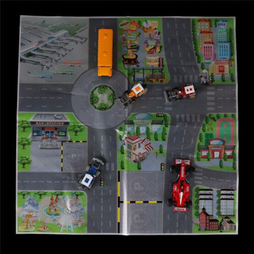 61*61CM City PARKING LOT Roadmap Toy  Model Car Climbing Mat TOY Gifts Pip JB