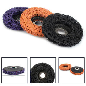 3Pcs-4-5-034-Poly-Strip-Wheel-Paint-Rust-Removal-Clean-Angle-Grinder-Abrasive-Disc