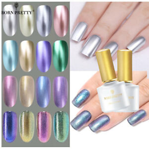 BORN-PRETTY-6ml-Metallic-Gel-Nail-Polish-UV-LED-Holographic-Mirror-Base-Top-Coat