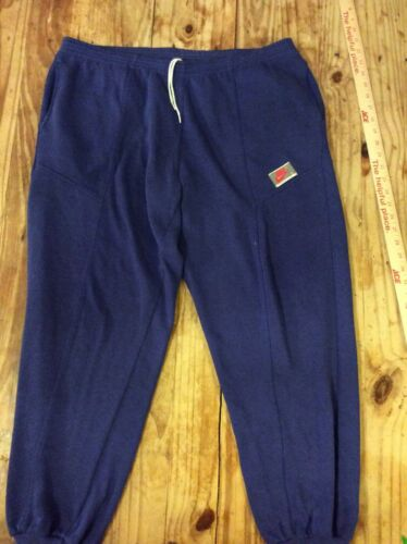 1980s vintage NIKE sweatpants M/L 36x30 blue soft