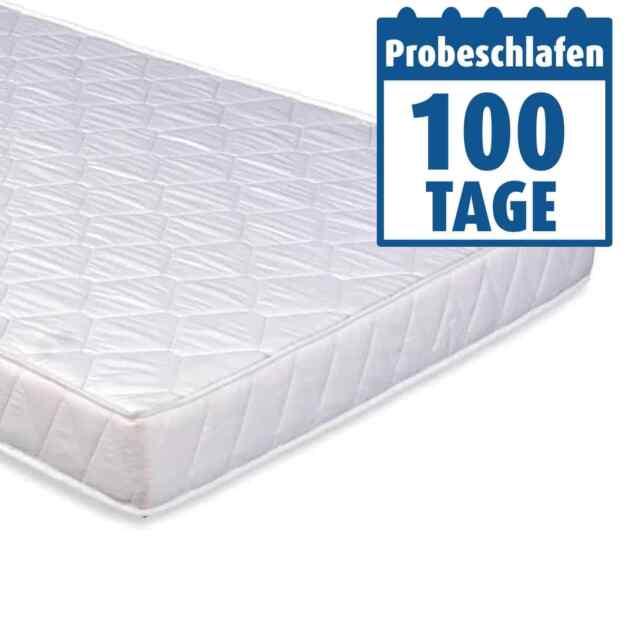 Komfortschaum-Rollmatratze - mit Klimafaser - 90x200 cm - H2