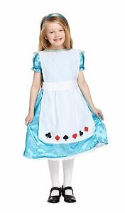 Image is loading ALICE-IN-WONDERLAND-GIRLS-OUTFIT-FANCY-DRESS-BOOK-  sc 1 st  eBay : alice in wonderland girls costumes  - Germanpascual.Com