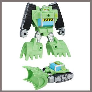 Rescan BOULDER CONSTRUCTION BOT Bulldozer Transformers Rescue Bots Playskool New