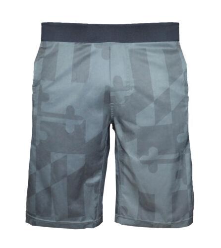 Training Black Crossfit Men/'s Maryland Shorts Size M uberfit MD Flag