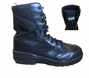 Black Magnum Boots Steel Toe ST Safety Boots Genuine British Army Surplus Army