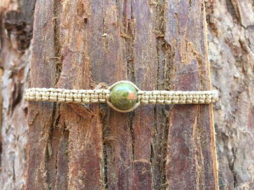 Pulsera de piedras preciosas Semi Preciosa Pulsera De Curación Chakra Reiki Cristal Hippy