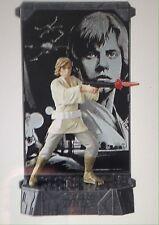 Star Wars Luke Skywalker 40th Anniversary Titanium Die Cast Black Series Figure