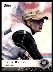 2012-TOPPS-OLYMPICS-SILVER-PAIGE-RAILEY-SAILING-53-PARALLEL