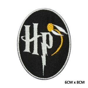 Harry Potter Gryffindor Ravenclaw Slytherin Embroidered Patch Badge For Clothes