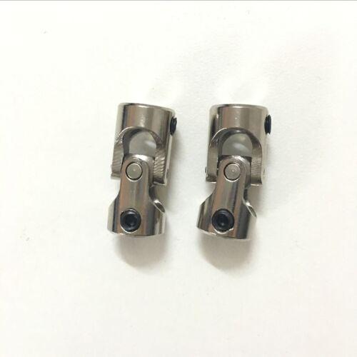 2 x Shaft Coupling Motor connector DIY Universal Joint for RC Boat DIY Model Car