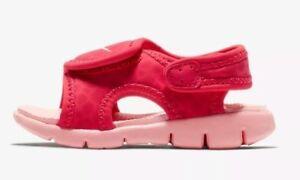 e5ed9119242d68 Nike Infant   Toddler SUNRAY ADJUST 4 TD Sandals Tropical Pink ...