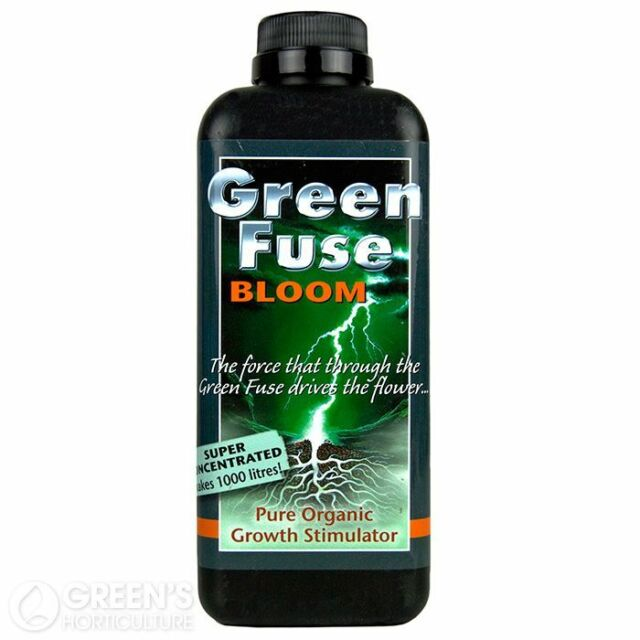Growth Technology Green Fuse Bloom/Grow/Root Nutrient Plant Stimulator Organic