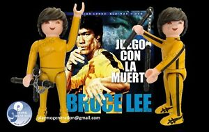Playmobil CUSTOM BRUCE LEE Game of Death O JUEGO CON LA MUERTE