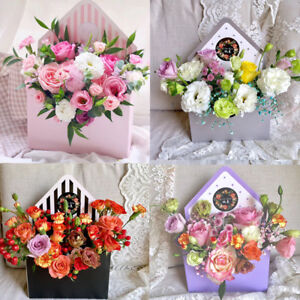 New fashion envelope box flower packaging floral bouquet florist image is loading new fashion envelope box flower packaging floral bouquet mightylinksfo