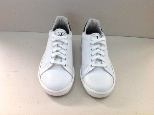 Low blanc Logo Condotti femmes en cuir Chaussures Via pour Black New Sneakers MqUGzSpV
