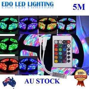 Waterproof-300-LEDS-RGB-5M-3528-SMD-LED-Strip-Light-12V-IR-Controller