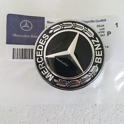 /& S Class W203 W204 w220 W221 W211 Genuine OEM Mercedes Benz Hood Emblem C E