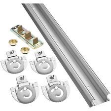 "PRIMELINE Galvanized Steel Bi-Pass Closet Track Kit,59/"" L 161792"