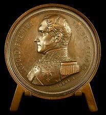 Médaille Léopold Ier de Belgique van België prince de Saxe-Cobourg 1856 Medal