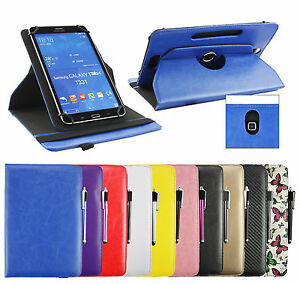 Universal-Stylish-7-8-inch-360-Rotating-Stand-Wallet-Case-Cover-amp-Stylus