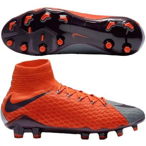 quality design 5b71b b0f79 Nike Hypervenom Phatal 3 DF FG 881546-058 Size 6