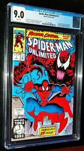 SPIDER-MAN-UNLIMITED-1-1993-Marvel-Comics-CGC-9-0-VF-NM