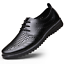 Summer-Business-Men-039-s-Breathable-Hollow-Out-Slip-On-Shoes-Casual-Leather-Shoes thumbnail 2