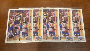 1993-UPPER-DECK-MICHAEL-JORDAN-MAGIC-VS-JORDAN-34-CARDS-INVESTORS-LOT-5