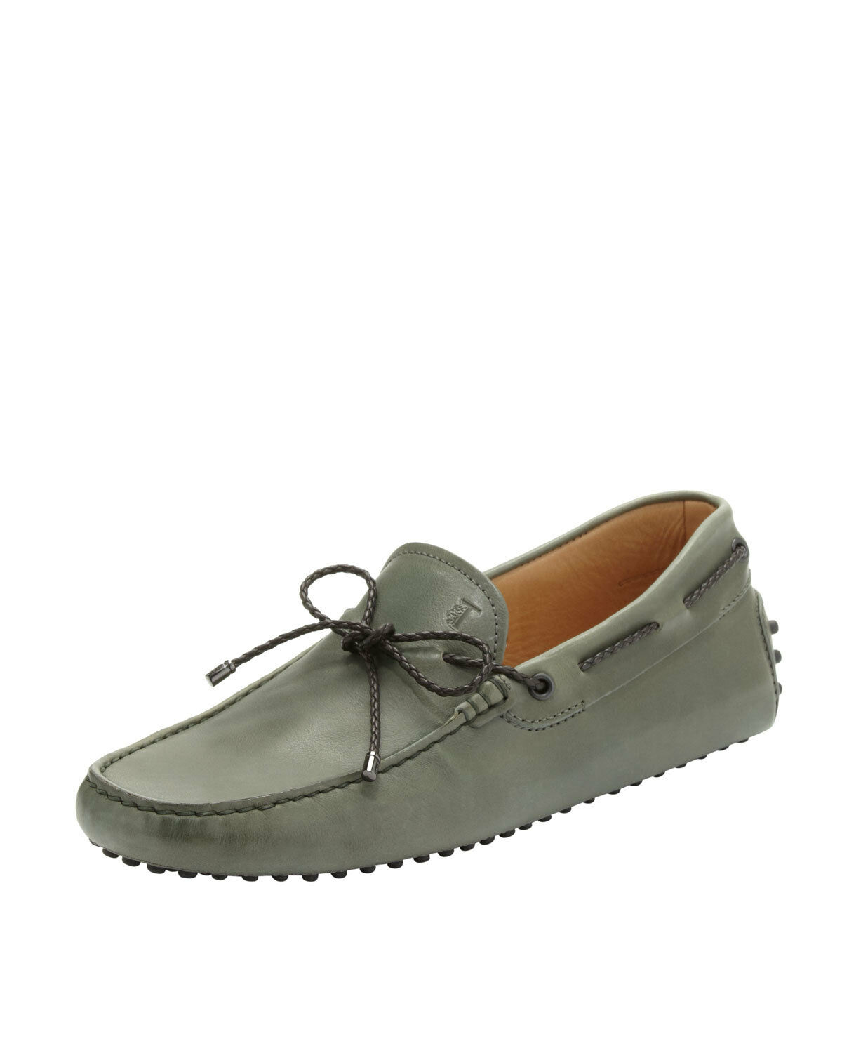 100% AUTH NEW MEN TODS BRAIDED TIE PENNY DRIVERS MOCCASIN  US 11 D