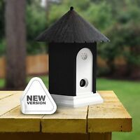 Ultrasonic Outdoor Pet Dog Cat Anti Barking Control Birdhouse Nuisance Stop Bark