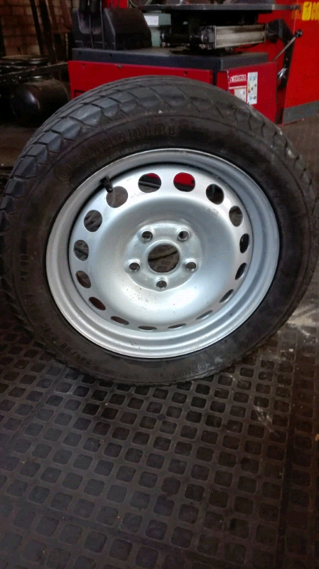 Vw Caddy 15inch Sparewheel available , For Sale.