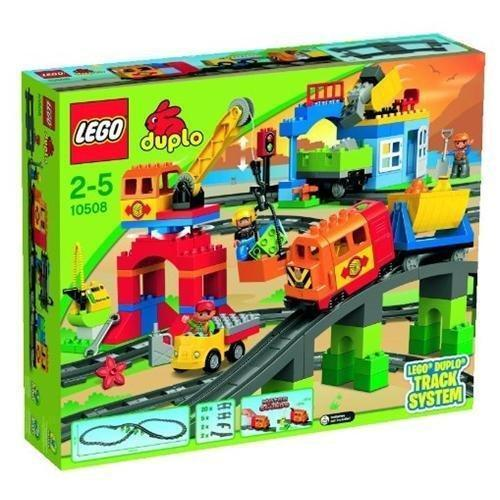 NEW Lego Duplo Train 10508 Deluxe Train Train Train Set SEALED Boys Girls Ships World Wide ddcbc8