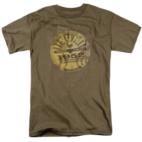 Sun Records LOGO MUSIC Licensed Adult T-Shirt All Sizes