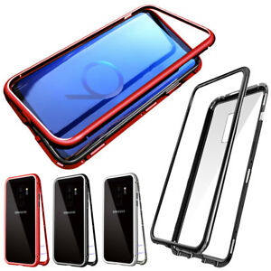 reputable site aa23d 3b133 360 Magnetic Adsorption Tempered Glass Case For Samsung Galaxy S8 S9 ...