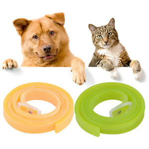 Dog-Cat-Repel-Tick-Flea-Quick-Kill-Remover-Pet-Protection-Aroma-Neck-Collar-RU