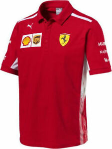 Details about F1 Scuderia Ferrari Puma Team Polo - 762362 01