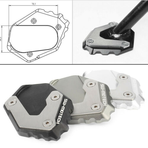 Foot Side Stand Kickstand Extension Enlarger Plate for BMW R 1200 GS LC 2013-18