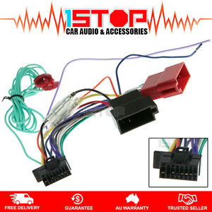 Image Is Loading ISO WIRING HARNESS For SONY XAV W651BT XAVW651BT