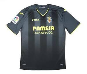 VILLARREAL 2016-17 Authentic Away Shirt (eccellente) XXXL Soccer Jersey