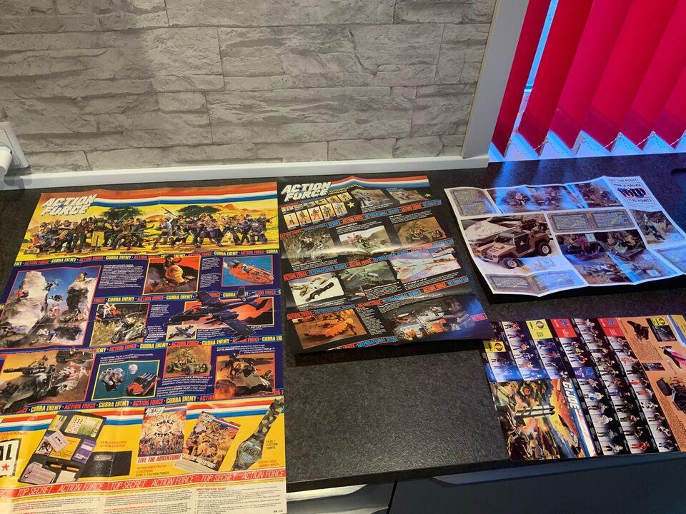 Gi-joe action force posters m.m, Hasbro
